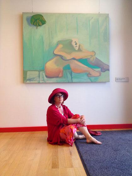 Maria Lassnig Rastende Kämpferin